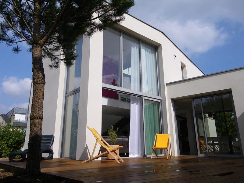 Plan maison moderne Rennes - Maison design Ille-et-Vilaine