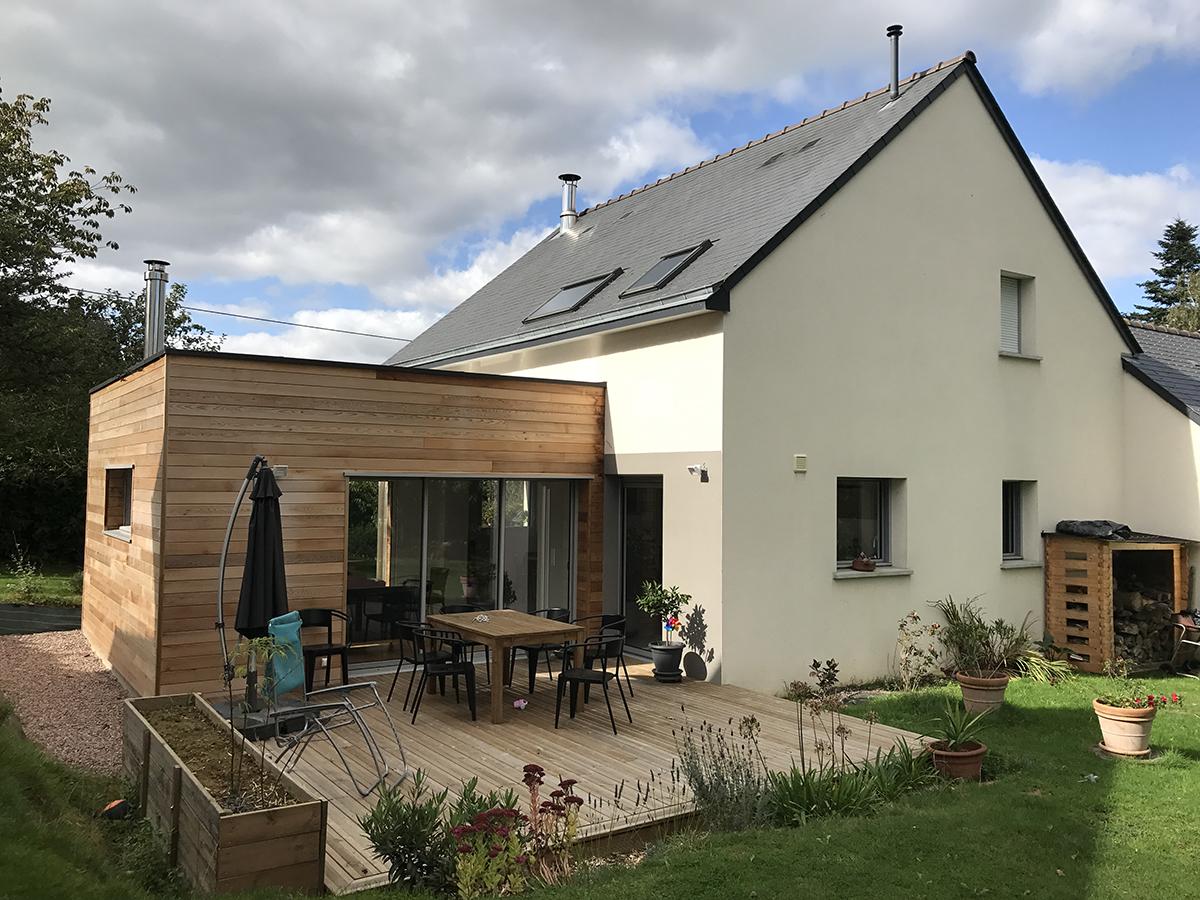 Devis Extension Maison à Villeparisis ▷ Agrandissement Bois, Acier, Parpaing