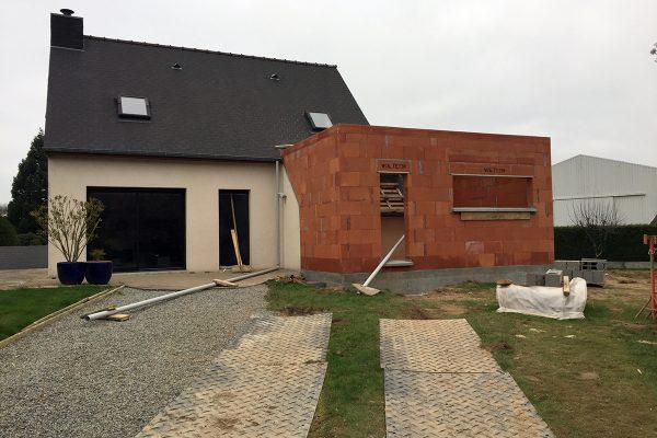 Extension Maison Rennes  IlleEtVilaine  Sedec Constructions