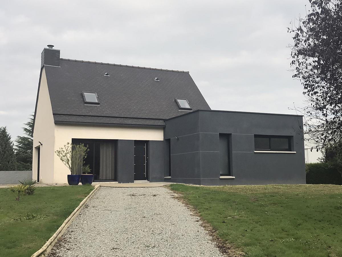 Maison Rennaise dedans extension maison rennes - ille-et-vilaine : sedec constructions