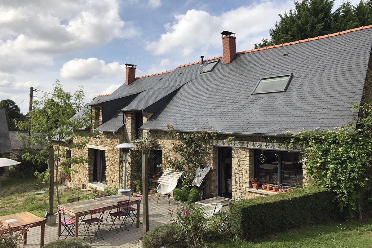 Rénovation d'une charmante longère au Sud de Rennes